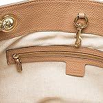 Fashion Shopping Gucci Camelia Camel Pebbled Leather Soho Shoulder Hand Bag Tassel