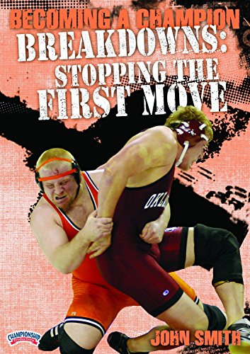 Championship Productions Becoming A Champion Wrestler: Breakdowns - Stopping The First Move DVD