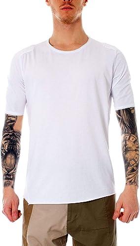 Imperial Homme T964XAFLblanc Blanc Coton T-Shirt