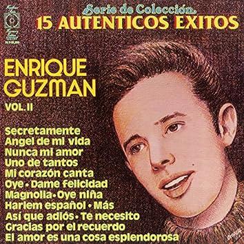 15 Exitos De Enrique Guzman Vol. ll