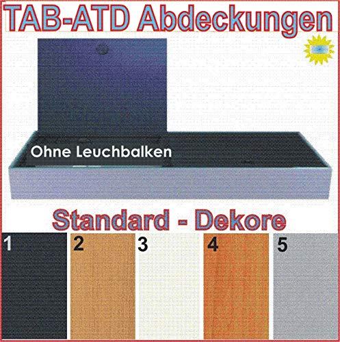 TAB - ATD Aquarium Abdeckung ohne Leuchtbalken 120x60 cm Standarddekor
