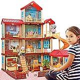 ORILEDA Dollhouse Dreamhouse Building Toys Figure w/...