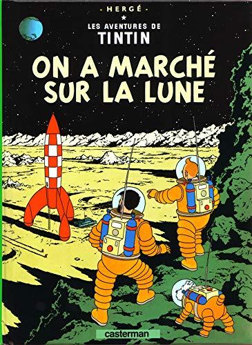Les Aventures de Tintin, Tome 17 : On a marché sur la Lune : Mini-album