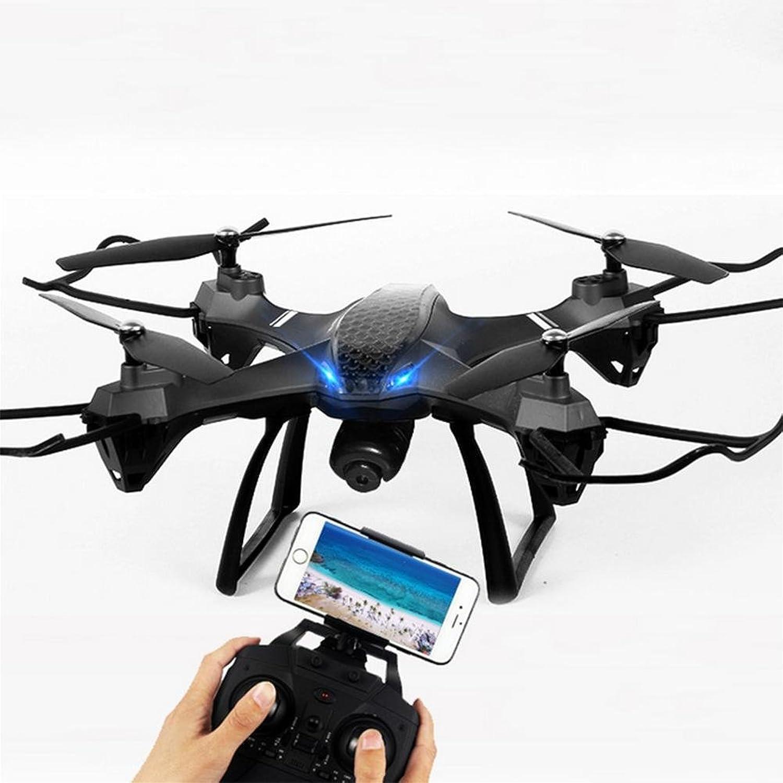 OOFAY Drohne mit Kamera Vier-Achsen-Flugzeug-Satz-hohe Luft-Drohne-Fernsteuerungsflugzeug-Spielzeug-Hubschrauber eine Schlüssel-Rückkehr zum kopflosen Modus