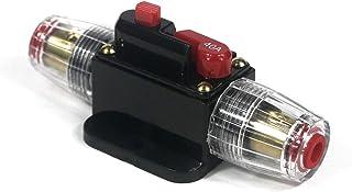 Noir Growment Systeme de pour la Voiture 40A Disjoncteur fusible en Ligne 12v-24v