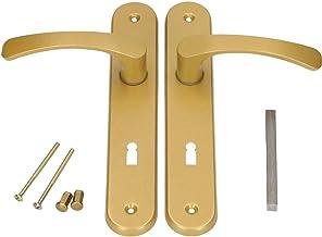 KOTARBAU® deurkruk 72 mm links rechts bontebaardslot gouden deurgarnituur deurbeslag deurklink deurklink deurklink deurdeu...