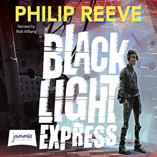 Black Light Express audiobook cover art