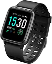 CHEREEKI Fitness Tracker, Fitness Watch with Heart Rate Monitor Waterproof IP68 1.3'' Color Screen Smartwatch, Stopwatch, Step Counter, Sleep Monitor Activity Tracker for Men Women Kid
