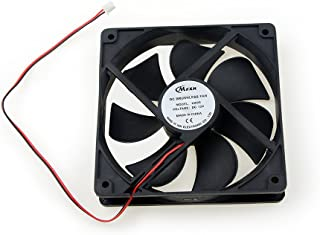 BXQINLENX 12025 Dc12v Quiet Brushless Cooling Fan Miniature Cooling Fans 7 Blade (3 PCS)