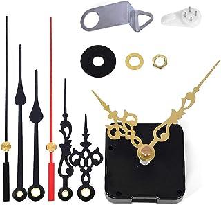 EMOON Clock Movement Mechanism with 3 Pack Clock Hands, Silent Sweep Quartz Clock Motor Kit, for Clock Repair, Custom Clock