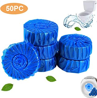 50PC Bathroom Toilet Bowl Cleaner Tablets, Automatic Toilet Bowl Cleaner, Household Automatic Toilet Cleaner for Toilet Tank and Bathroom