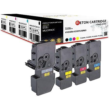 4x Eurotone Toner Für Kyocera Ecosys M 5521 Wie Tk 5230 Tk5230 Set Bürobedarf Schreibwaren