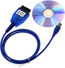DIAGKING BMW INPA K+DCAN Diagnostic Cable Compatible for BMW E Serials E39 E46 (with Switch) Work with ISTA SSS NCS Coding Winkfp Programing