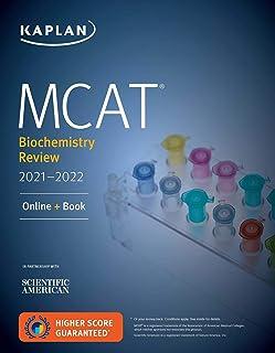 MCAT Biochemistry Review 2021-2022: Online + Book
