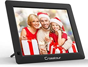 Digital Picture Frame 8 Inch, Electronic Photo/Music/Video Frame 4:3 Wide Screen with Remote Control, Best Gift for Your Christmas&New Year