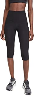 Yummie womens Talia Capri Cotton Stretch Shaping Legging with Pockets Leggings
