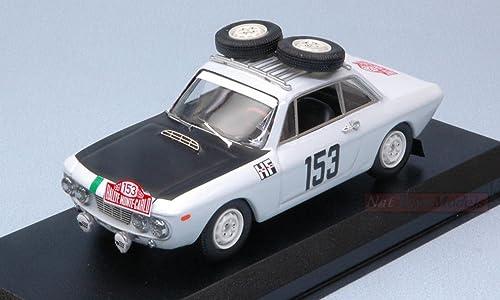 cómodamente Best Model BT9685 Lancia Fulvia 1300 HF N.153 Montecarlo Montecarlo Montecarlo 1967 1 43 Die Cast Compatible con  ¡no ser extrañado!