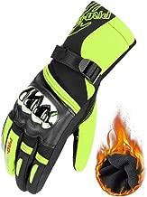 Mdder Guanti moto off-road da uomo guanti da moto full finger riding moto off-road guanti moto off-road moto ///Blu X XL
