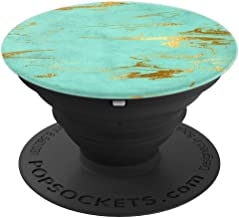 Modern & Trendy Turquoise Swirl Pattern PACJ0558 - PopSockets Grip and Stand for Phones and Tablets