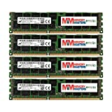 MemoryMasters Micron 64GB Kit 4 x 16GB PC3-12800 1.35V For HP ProLiant SL250S G8 687465-001 SL335S G7 ML370 G6 SL390S G7 DL360 G6 672612-081 DL360P G8 DL370 G6 DL380E G8 DL380 G6 684031-001 Memory RAM