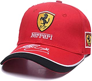 0dd895fee55 Formula 1 Ferrari Racing Team Cap (Red)