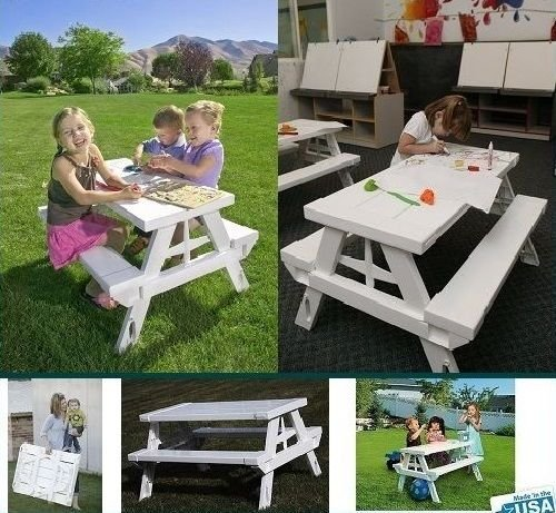 Generic O-8-O-3791-O olding Outdoor Beach r Beach Chair Set Bench ench Ou Children Child Kids Chair...