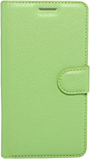 MEI1JIA For Huawei Enjoy 6s Litchi Texture Horizontal Flip Leather Case with Holder & Card Slots & Wallet (Black) (Color : Green)