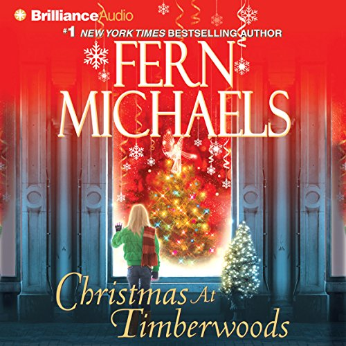Christmas at Timberwoods audiobook cover art
