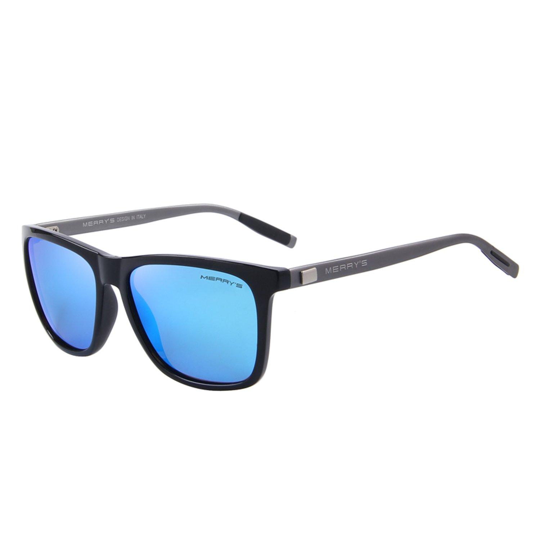 MERRYS Polarized Aluminum Sunglasses Vintage