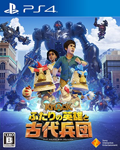 Knack 2 SONY PS4 PLAYSTATION 4 JAPANESE VERSION [video game]