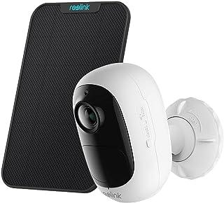 Reolink Beveiligingscamera op Zonne-energie voor Buiten met Oplaadbare Batterij, Draadloze WiFi-IP Camera met PIR Beweging...