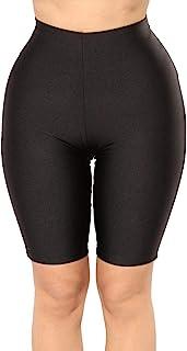 PESION Women's Active Biker Yoga Shorts/Pants, Sexy Spandex Boyshort