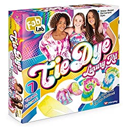 Create unique and trendy clothes and accessories with the new Tie Dye Luxury Kit! Includes 7 bright and trendy colours in applicator bottles, rubber bands and PVC lab gloves It's fun and easy to do and the instruction booklet explains the techniques ...