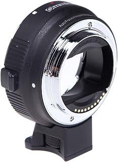 Commlite オートフォーカスEF-NEX EF-EMOUNT FX レンズマウントアダプター Canon EF EF-S レンズ→Sony E マウント NEX 3/3N/5N/5R/7/A7 A7R フルフレーム【並行輸入品】