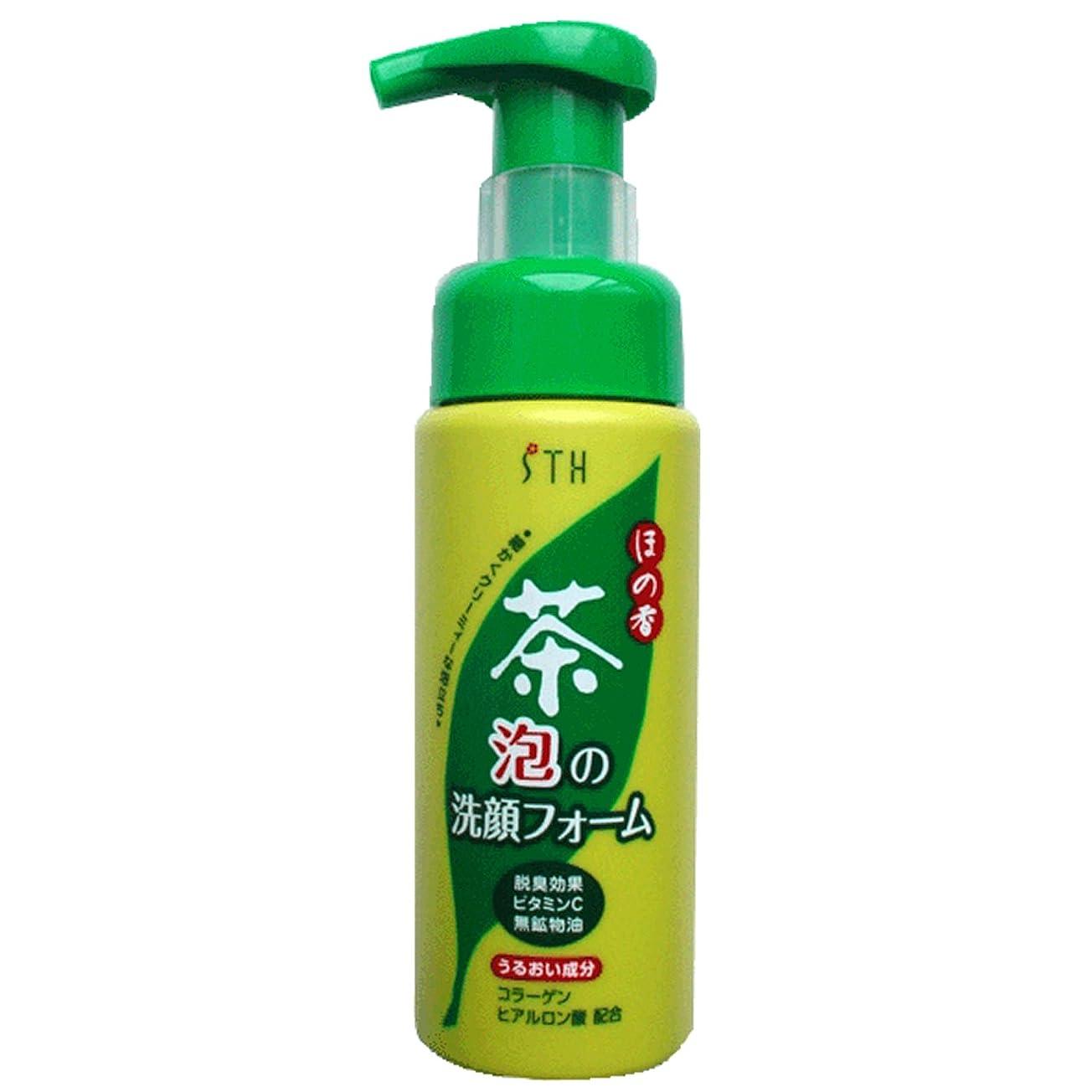 つぼみドロップポゴスティックジャンプ茶 泡の洗顔フォーム200ml