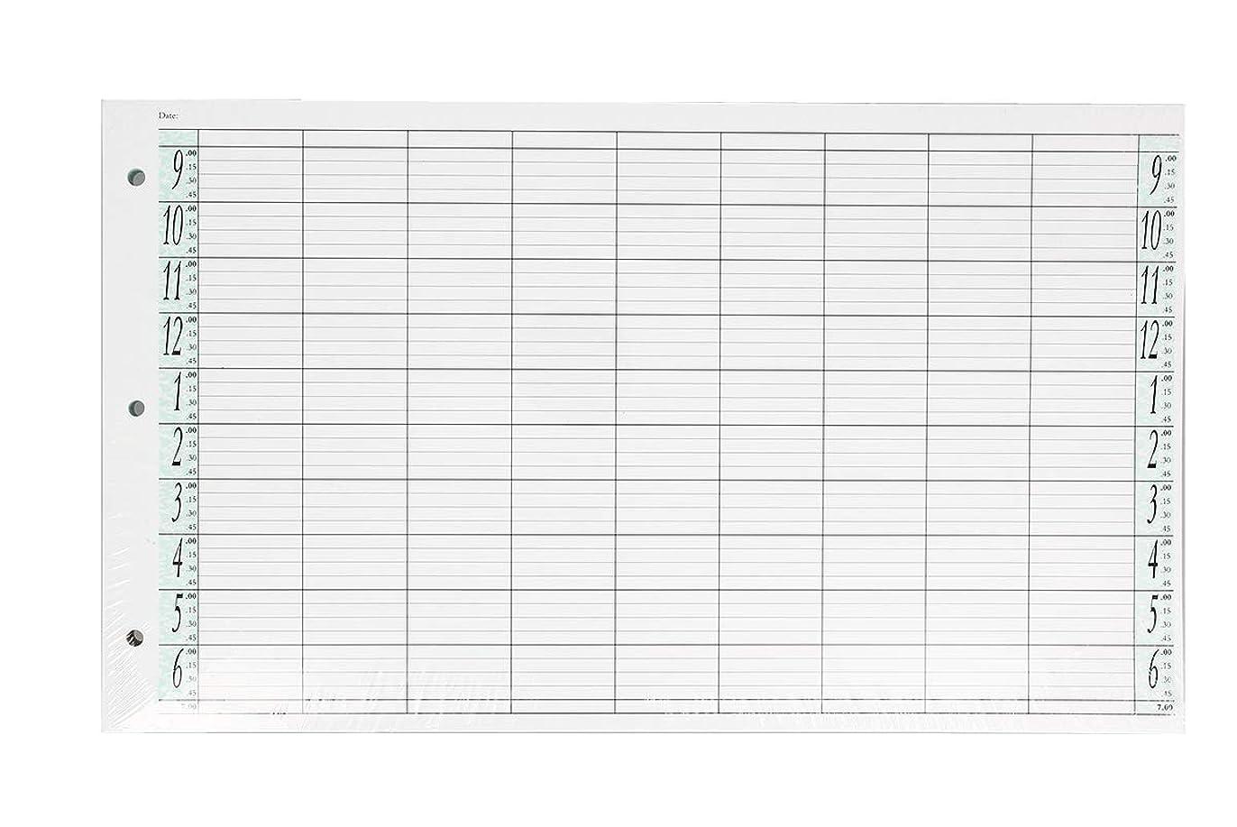 白菜アーチ膨らみアジェンダ サロンコンセプト ルーズリーフリフィル9色100枚LL9 / Z3[海外直送品] [並行輸入品]