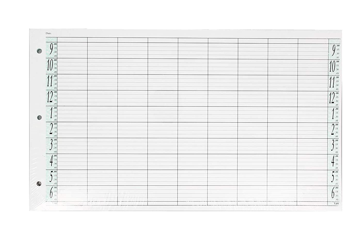 メトロポリタン学者維持するアジェンダ サロンコンセプト ルーズリーフリフィル9色100枚LL9 / Z3[海外直送品] [並行輸入品]