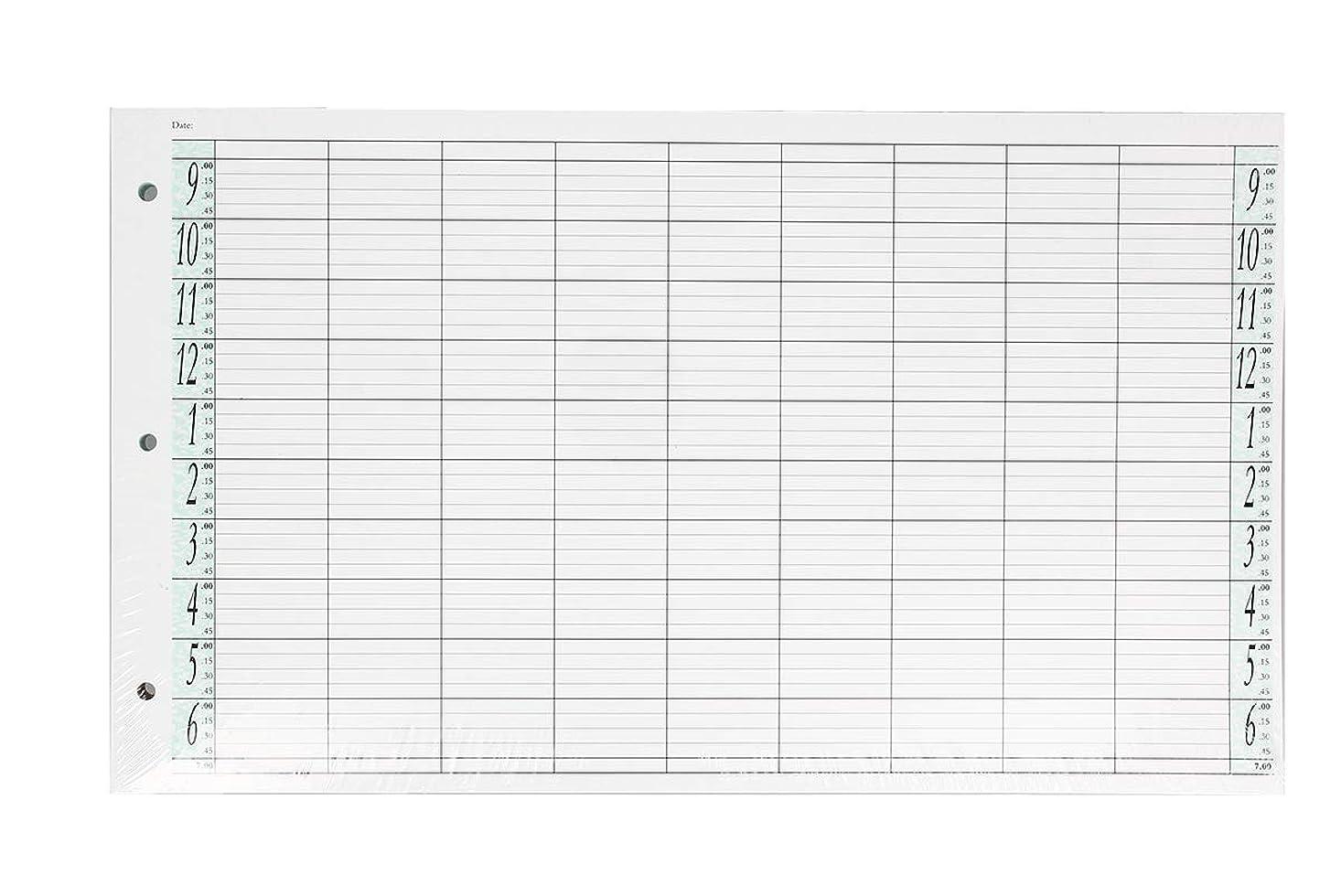 ペネロペ再集計常習者アジェンダ サロンコンセプト ルーズリーフリフィル9色100枚LL9 / Z3[海外直送品] [並行輸入品]