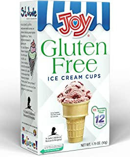 Joy Gluten-Free Ice Cream Cones Cake Cups, 1.75 Ounce, 12 Count