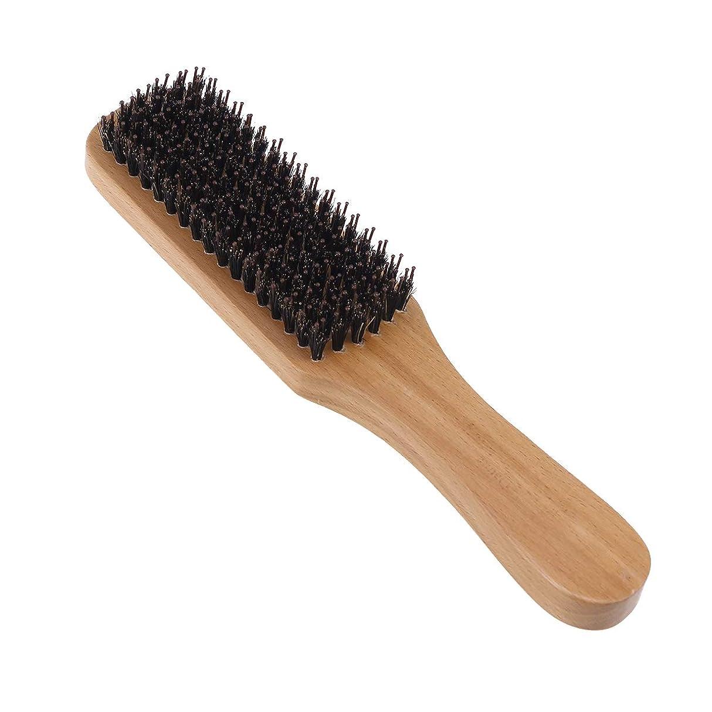 集団的消費浮くLurrose 世帯の理髪店のための剛毛のブラシの木製のハンドルの口ひげの毛バスブラシ