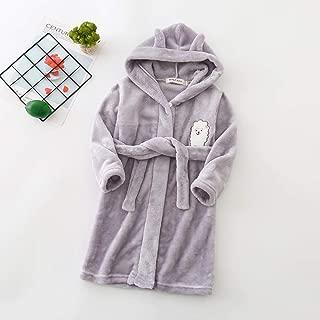 Autumn Winter Children Sleepwear Robe Flannel Hooded Warm Bathrobe Kids Pajamas for Boys & Girls Lovely Cartoon Animals Robes|