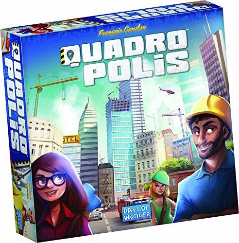Days of Wonder DOW0001 - Brettspiel, Quadropolis, Mehrfarbig