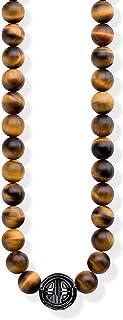 Thomas Sabo Femmes-Chaîne Power Necklace Marron Glam & Soul Argent Sterling 925 KE1673-806-2-L100