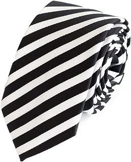 gestreifte Krawatte in 6cm Breite in verschiedenen Farben für Büro Verein Hochzeit Weihnachten