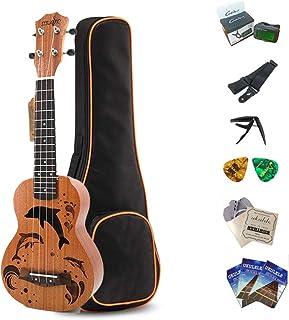 Amazon.es: estuche ukelele concierto: Instrumentos musicales