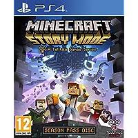 Telltale Games Minecraft: Story Mode, PS4 Season Pass PlayStation 4 Francés vídeo - Juego (PS4, PlayStation 4, Acción / Aventura, Modo multijugador, RP (Clasificación pendiente))
