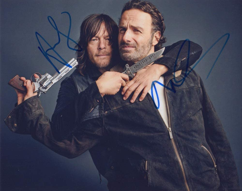 The Walking Dead Norman Max 53% OFF Reedus Andrew ph Los Angeles Mall signed Lincoln 8x10