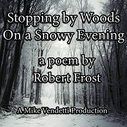 Stopping by Woods on a Snowy Evening cover art
