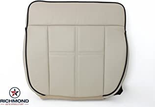 Richmond Auto Upholstery 2006 Lincoln Mark LT - Driver Side Bottom Leather Seat Cover, Tan