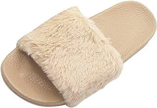 TEELONG Womens Slipper Boots Womens Ladies Fashion Girls Home Cute Slippers Cartoon Cat Warm Indoors Floor Shoes Khaki,Pink,Grey Size 4 5 6 7 UK